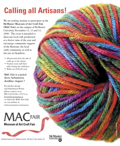 ball of yarn on poster