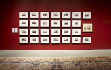 J.M.W. Turner Installation. photo: Roy Timm Photography