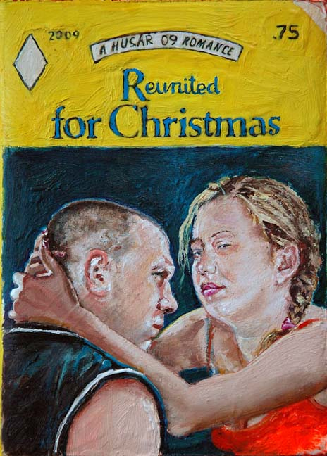 cover of book repainted by artist