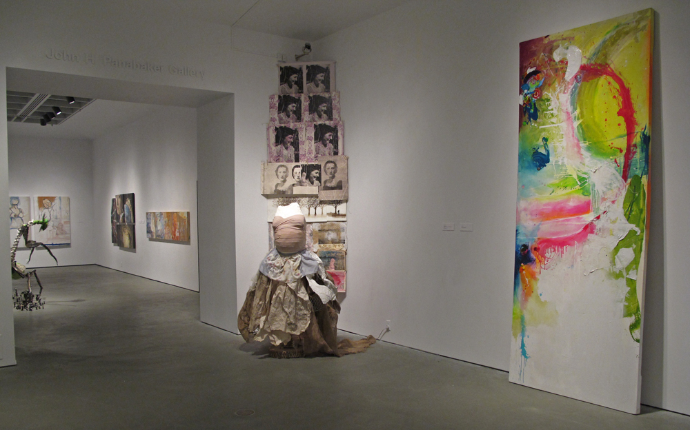 installation view of contemporary art exhibition