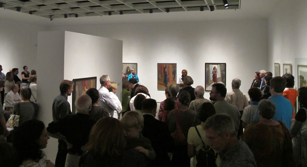 Katherine MacDonald | George Wallace Reception at McMaster Museum of Art