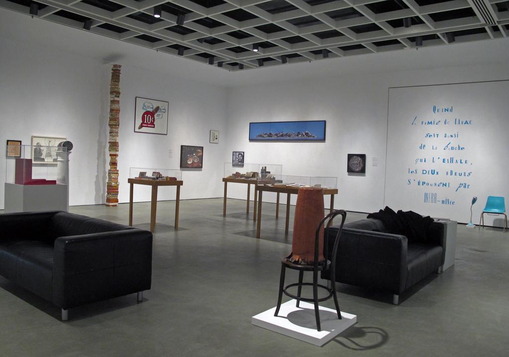 Christos Dikeakos: Patisserie Duchamp installation