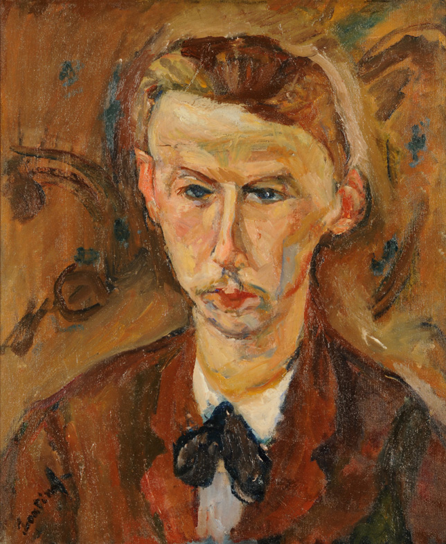 Chaïm Soutine • Portrait of the Painter Richard X, ca.1916-17. Gift of Herman Levy. Collection of McMaster Museum of Art, McMaster University. Expressionism