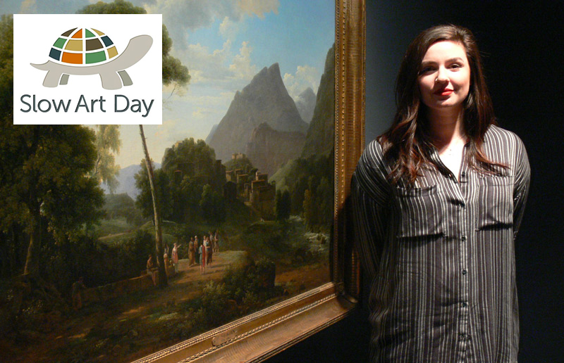 Rachel Tirone to host Slow Art Day at McMaster Museum of Art, April 8, 2017