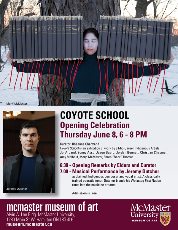 Coyote School exhibition opens with musical performance