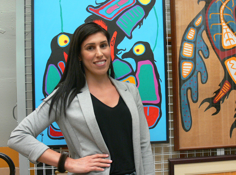 Rhéanne Chartrand, Curator of Indigenous Art, McMaster Museum of Art