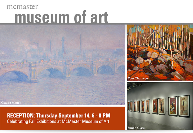 McMaster Fall exhibitions open on September 14