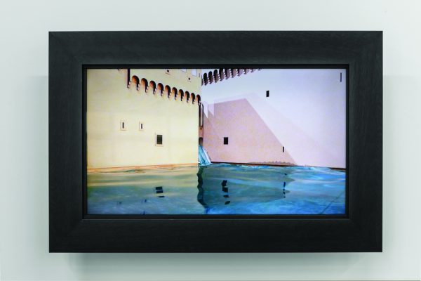 Susan Schelle, flood (detail), video, 2015 at McMaster Museum of Art