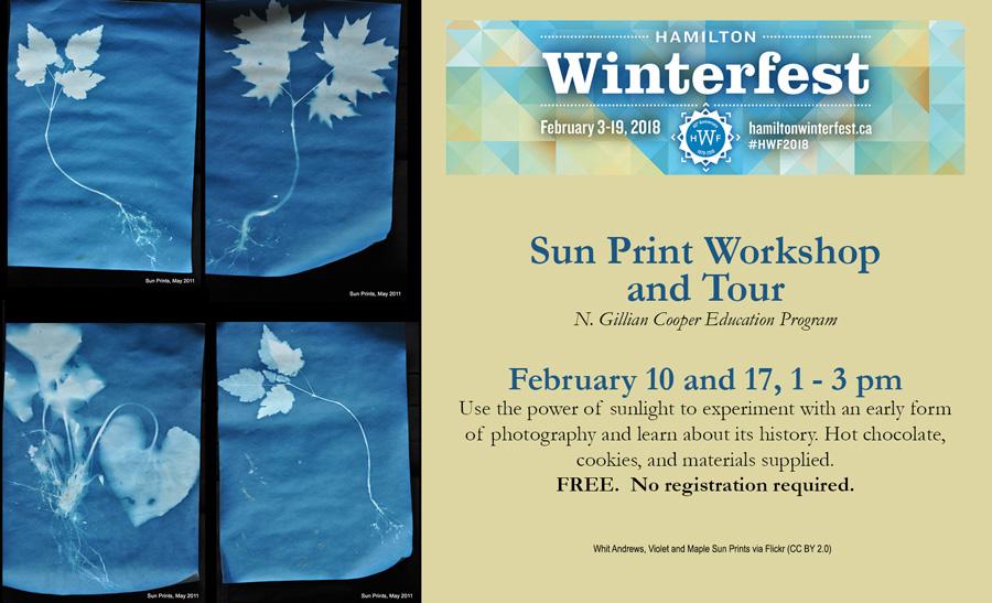 McMaster Museum of Art Sun Print Workshops