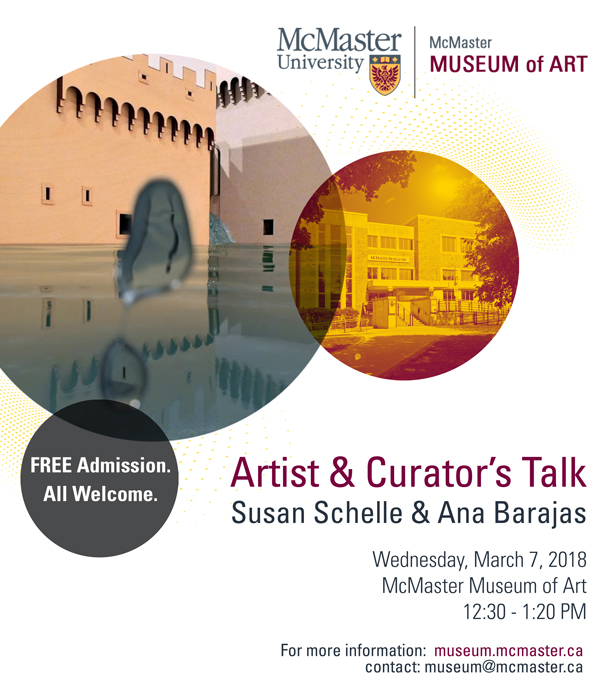 Susan Schelle Talk at McMaster Museum of Art 2018