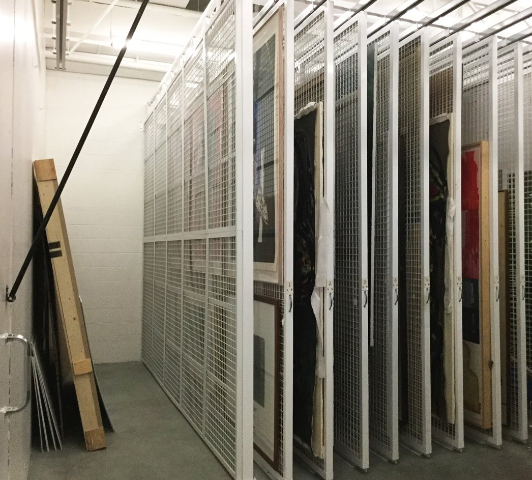 Storage Upgrades 2 - McMaster Museum of Art