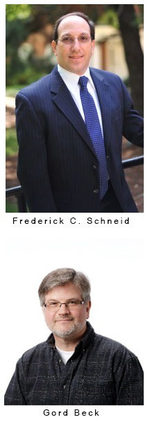 Frederick Schneid and Gord Beck, McMaster University Library Speakers June 13