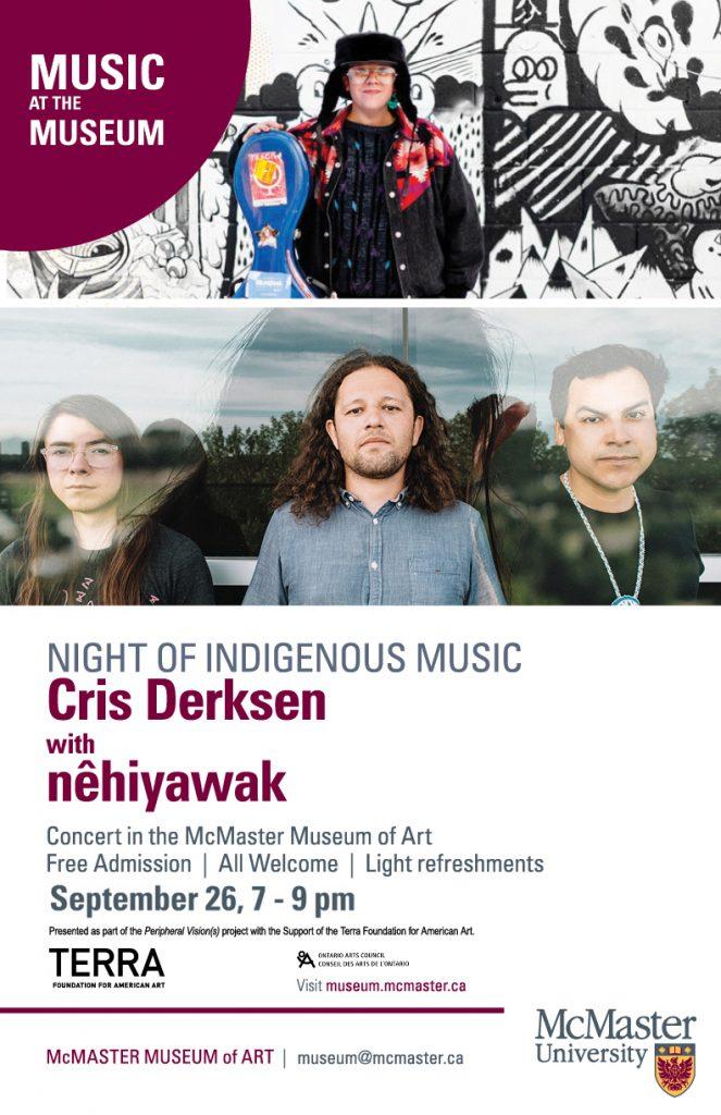 Derksen and nehiyawak concert