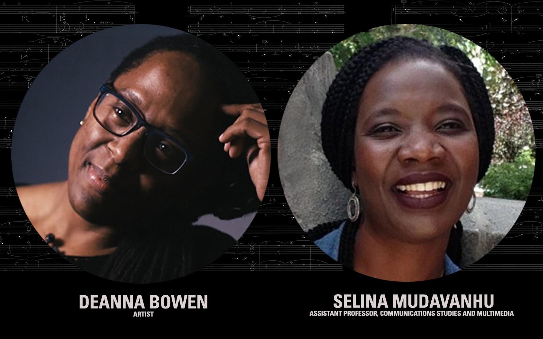 Artist Deanna Bowen in Conversation with professor Selina Mudavanhu