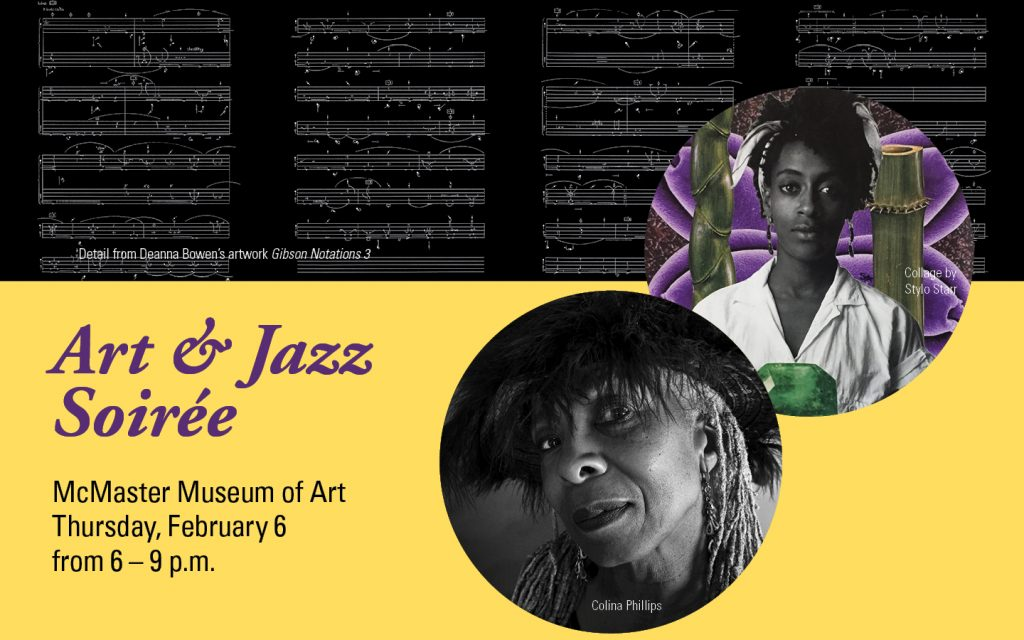 Art and Jazz at McMaster Museum of Art Feb 6, 2020