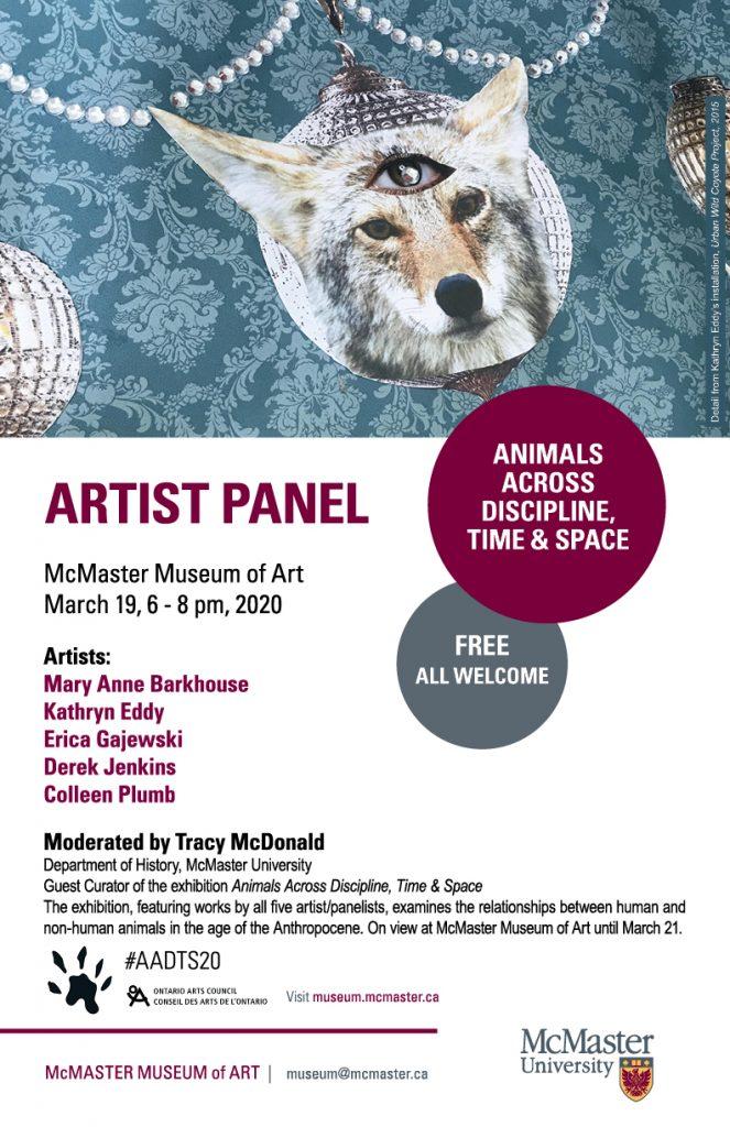 AADTS Artist Panel Poster