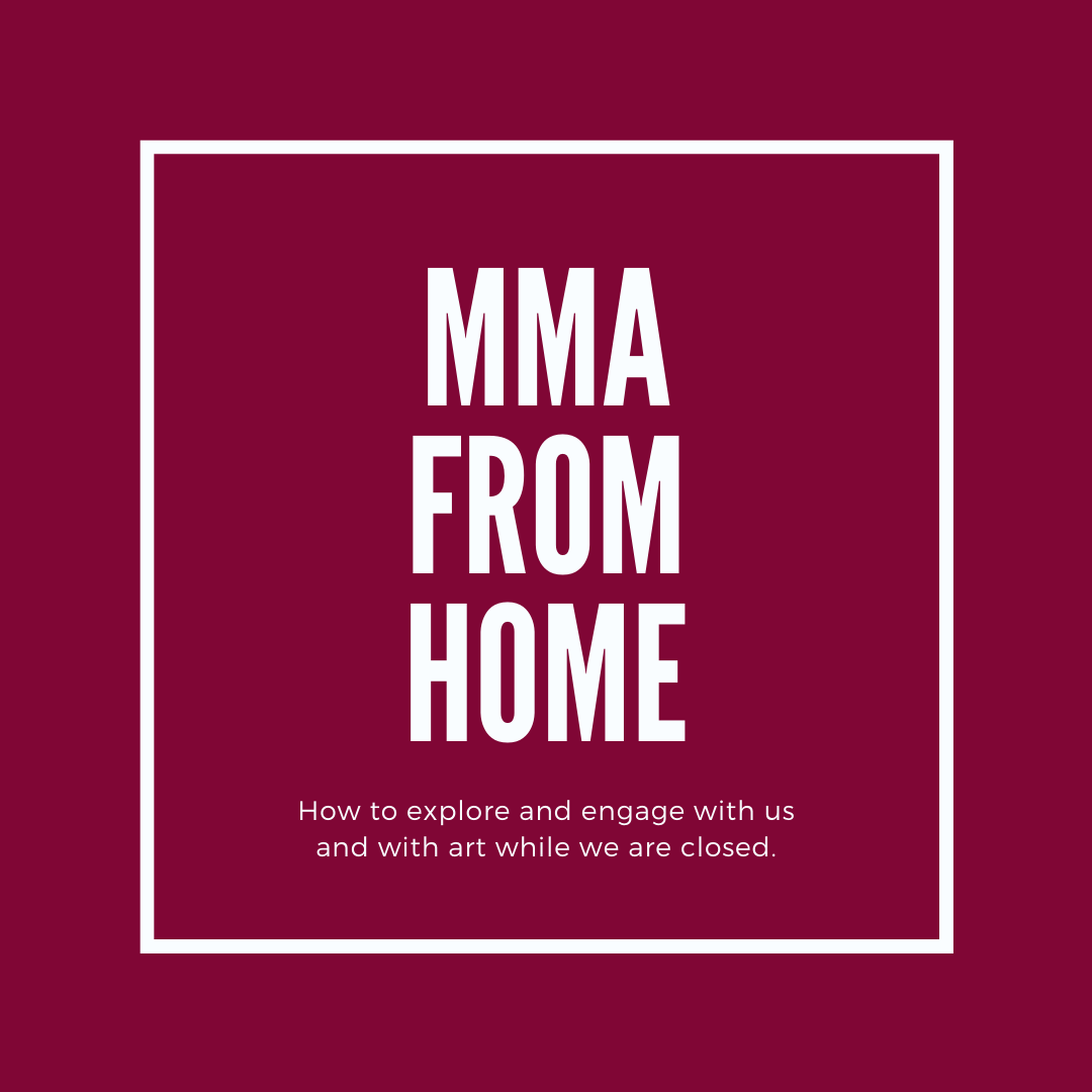 MMA from Home Maroon square