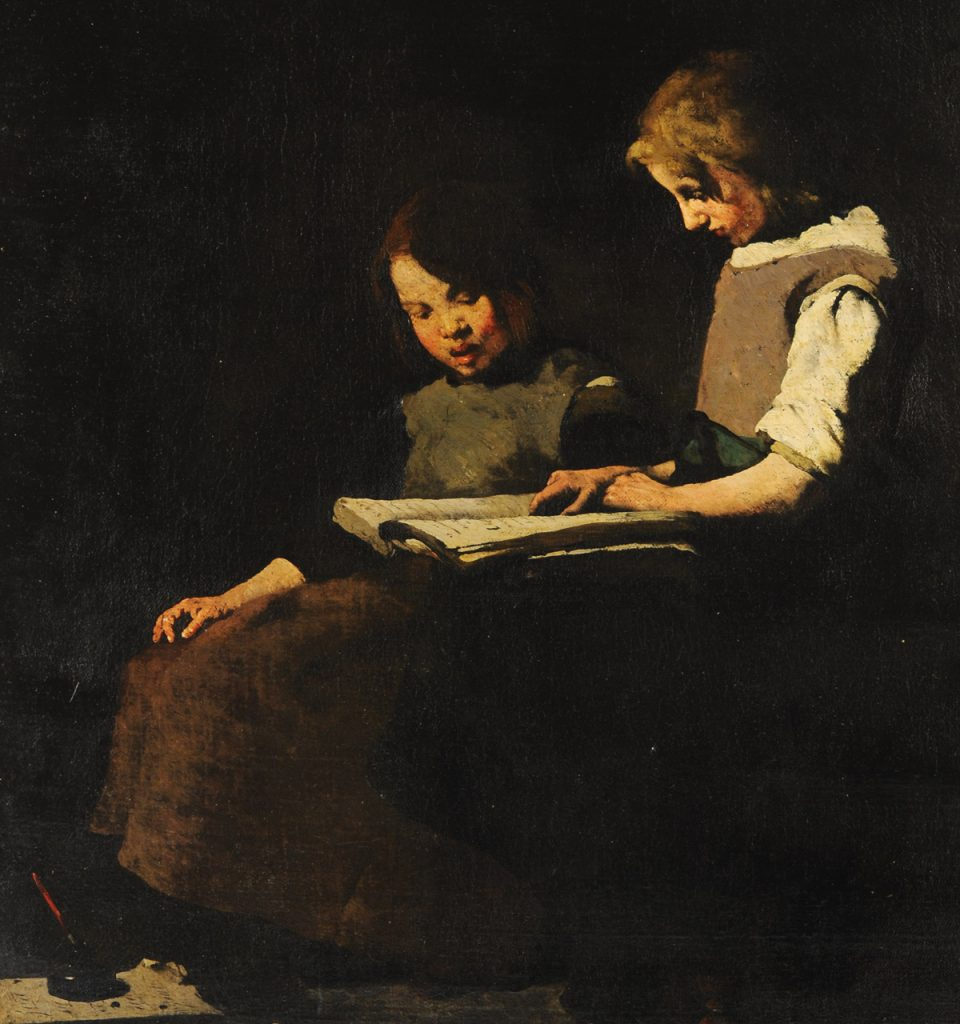 Theodule Ribot painting McMaster Museum of Art collection