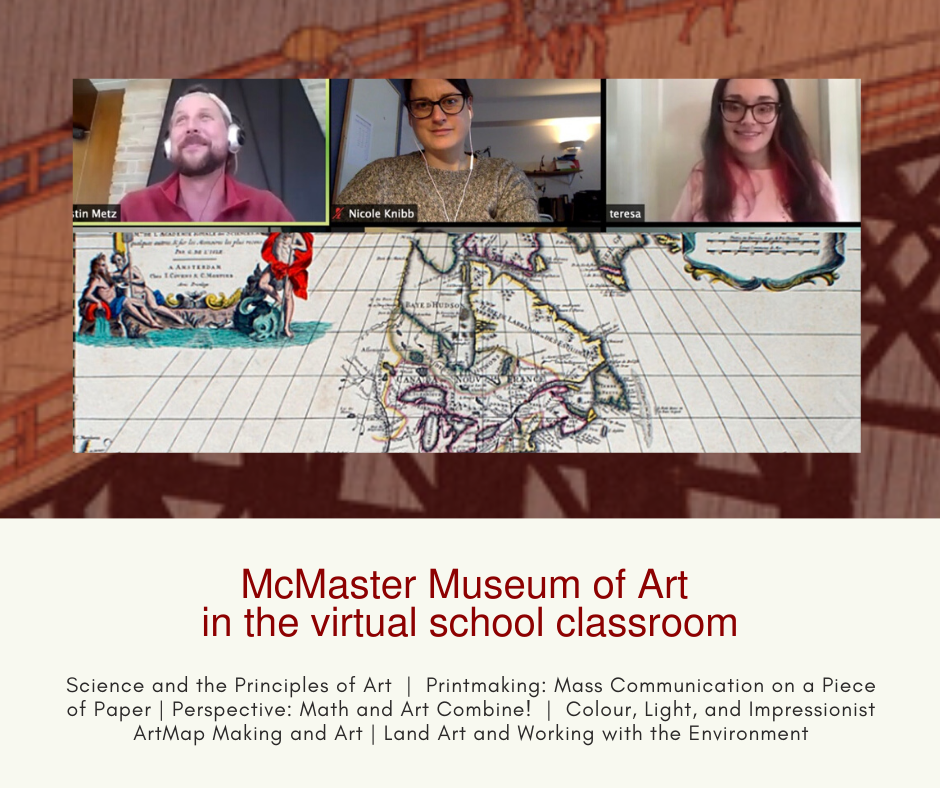 McMaster Museum of Art takes programs into virtual school classrooms