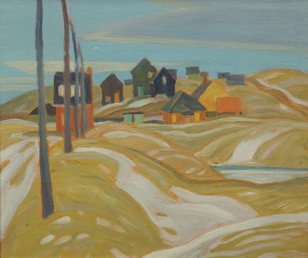 Franklin Carmichael painting at McMaster Museum of Art