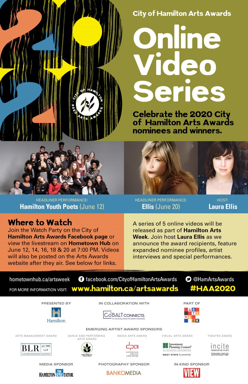 2020 City of Hamilton Arts Awards