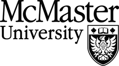 black mcmaster university logo