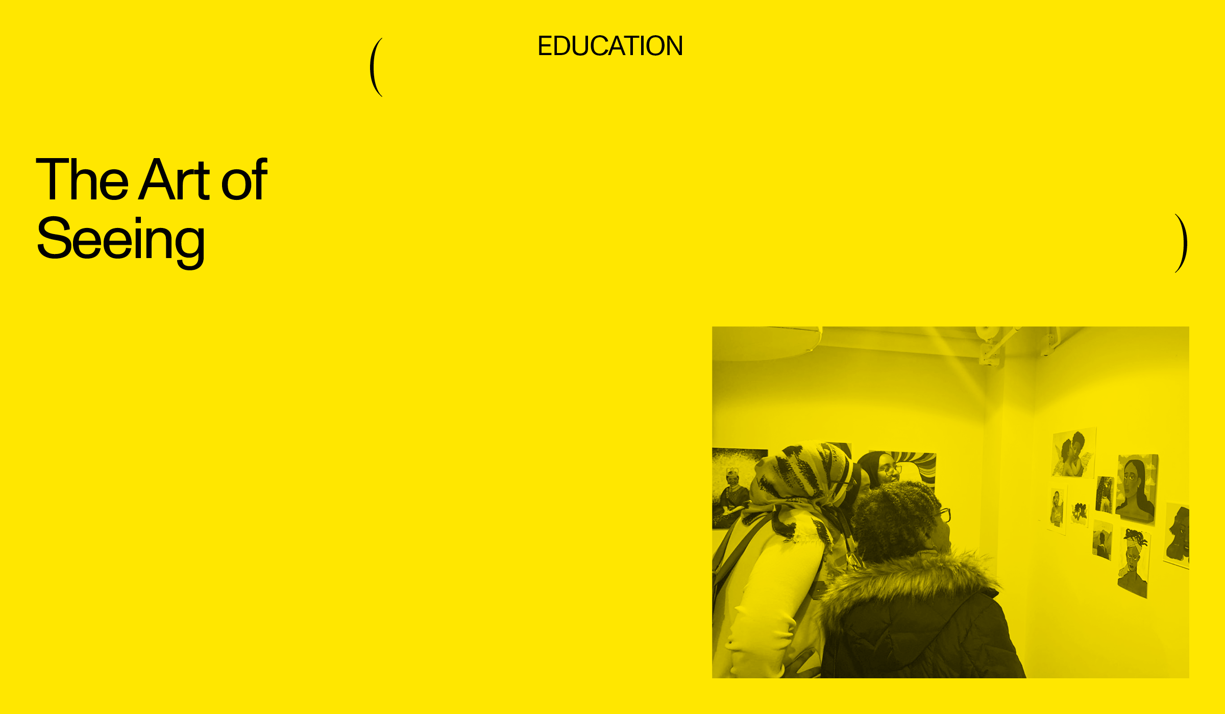 yellow graphic with