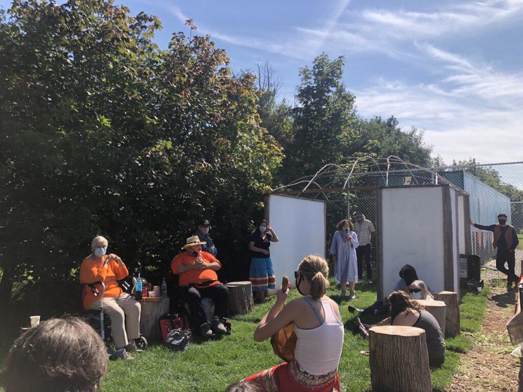 speaker at launch event
